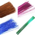 Florist wires set, Metal and Plastic, 75 pieces, [00ts10003]